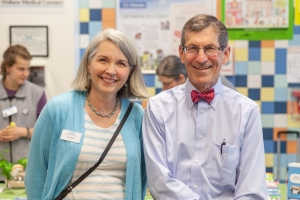 Wallace Founder Dr. Jim Reuler and Wallace Board President Lynn Ketch